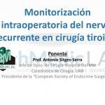FORMACION BESTMEDIC TECHMEDICLAB MONITORIZACION INTRAOPERATORIA NERVIO RECURRENTE